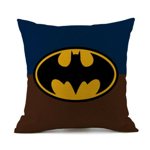 Superhero The Avengers Linen Pillow Case Home Decor Marvel Sofa Cushions Cover
