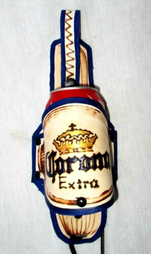 Corona Extra Modelo Crown  leather Mexican Beer can bottle holster holder Ch36