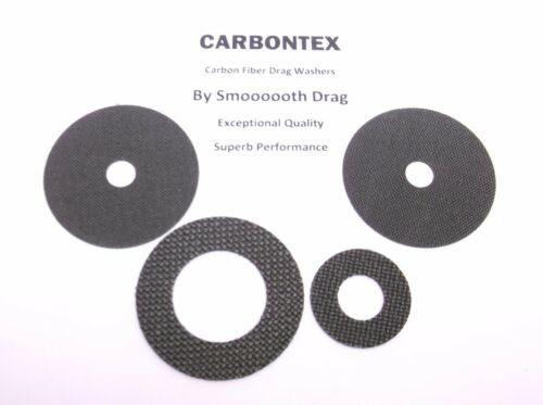 Smooth Drag carbontex Drag Rondelles #SDD9 Daiwa Reel part Lexa 400PWR-P 4