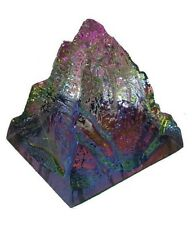 ROCK CRYSTAL GLASS PYRAMID FOR POSITIVE ENERGY  HEALING CRYSTAL