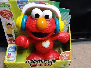 Hasbro Sesame Street Let/'s Dance Elmo Sesame Street Toy Playskool