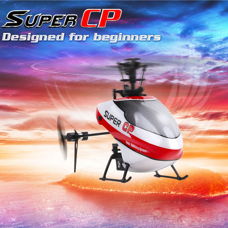Walkera Super CP RC Drone 6CH 2.4GHz 3D Helicopter w  DEVO 7E Transmitter RTF
