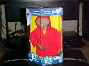 """11"""" E.T Electronic Interactive Toy By Hasbro & Tiger New In Box 2000"""