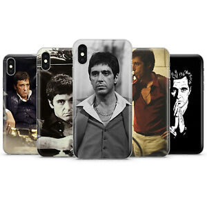 Scarface Tony Montana Al Pacino CLEAR PHONE CASE COVER ... |Scarface Phone Case