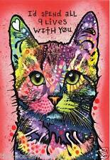 Beautiful Colourful Cat Wildlife Picture Poster Home Art Print Wall Decor New H1