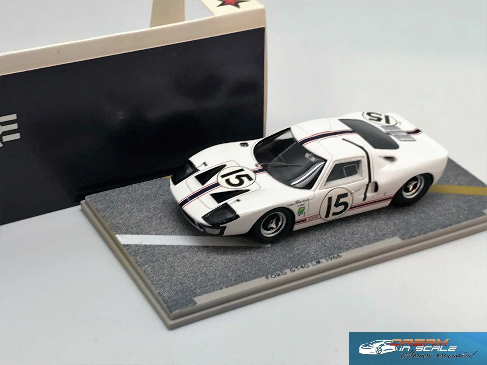 FORD GT40  15 LM 1966 Bizarre BZ282 1 43