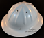 thumbnail 2 - OEM-TRADESMAN-FORESTER-ALUMINUM-HARD-HAT-WHITE-FULL-BRIM-w-RATCHET-SUSPENSION