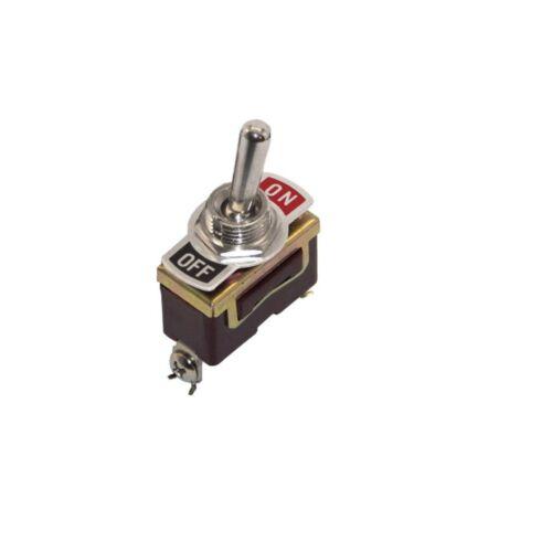 2pcs 12V Heavy Duty Toggle Flick Switch ON//OFF Car Dash Light Metal SPST