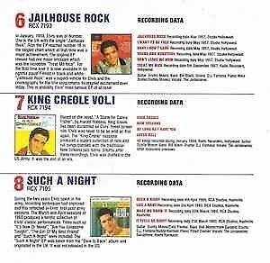 Single, Elvis Presley, The E.P. Collection