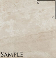 Sample Of 18 X 18 Pamesa Ceramica Dante Noce Glazed Floor Tile