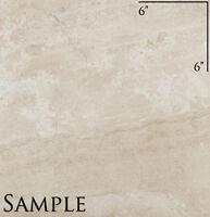 Sample Of 18 X 18 Pamesa Ceramica Dante Noce Glazed Floor Tile