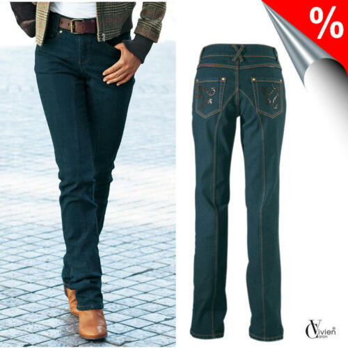 dark blue VIVIEN CARON NEU!! Stretch-Jeans /%/%/% SALE/%/%/%