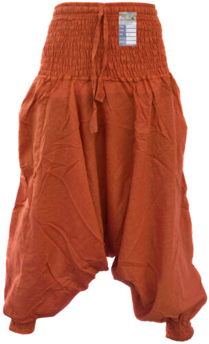 Hippie Wideleg  Cotton Ali Baba Alladin Comfy Nepalese Baggie Harem Pant Trouser