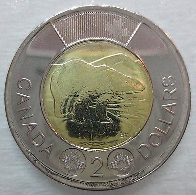 1999 CANADA NUNAVUT TOONIE BRILLIANT UNCIRCULATED TWO DOLLAR COIN