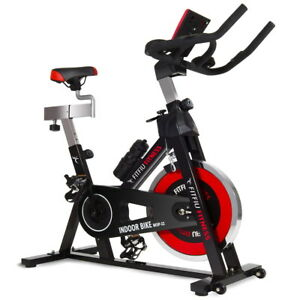 Bicicletta-indoor-spinning-regolabile-display-LCD-volante-inerzia-24kg-Fitfiu