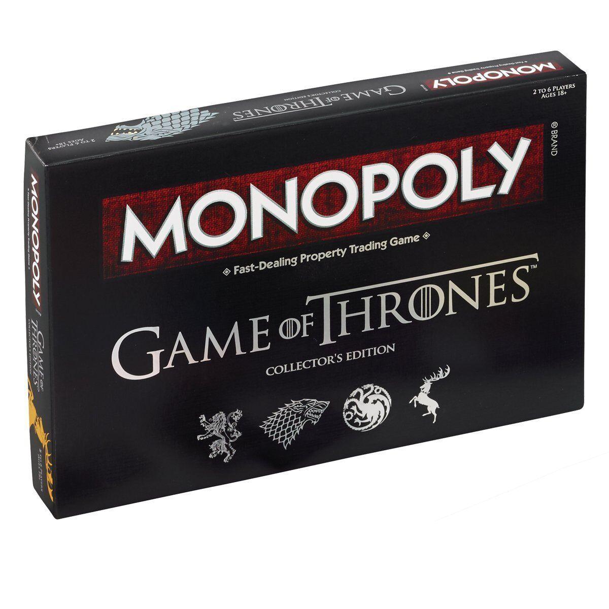 Game Of Thrones Juego Tablero Monopoly Nuevo Precintado