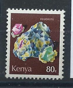 Kenya-N-101-MNH-1977-Mineraux-034-Fluorine-034