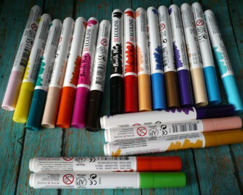 Royal Talens Ecoline Brush Pens Lettering Watercolor Calligraphy Dye Based Desta