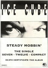 14/12/91 Pgn06 Advert: steady Mobbin The New Single From Ice Cube Out Now 7x5