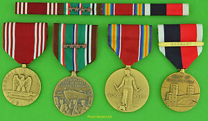 Army-WWII-European-Theater-Medals-Ribbons-Occupation-of-GERMANY-CLASP