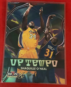 1999-00-NBA-Hoops-Decade-Up-Tempo-UT3-Shaquille-O-039-Neal-Los-Angeles-Lakers-NBA