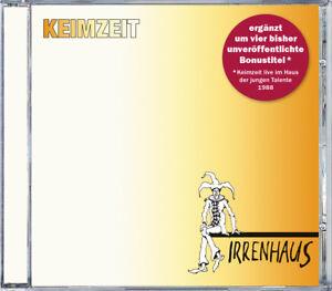 Keimzeit - Irrenhaus - Neuveröffentlichung 2018 - CD incl. 4 Bonustracks