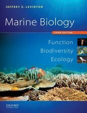 Marine Biology by Jeffrey S Levinton