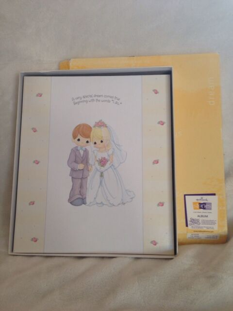 Precious Moments Wedding Album Hallmark Stories Scrapbook Wca2228 W