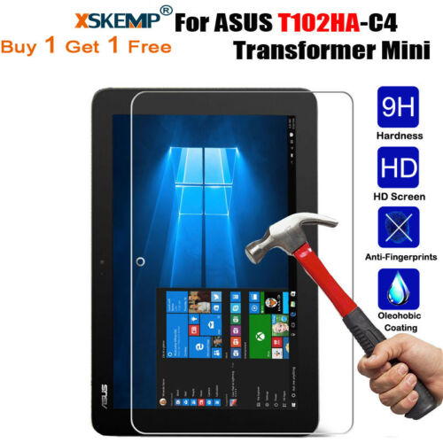 2X Real Tempered Glass Screen Protector Protective Film Cover For ASUS Tablets