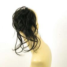 """chouchou peruk cheveux châtain foncé """"brun"""" ref: 22 en 2"""