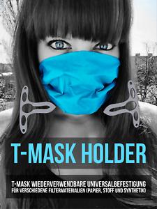 T-Maske-Befestigung-fuer-Filtermaterialien-Atemschutz-Mundschutz