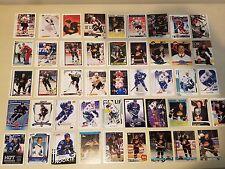 Lot 200 Vancouver Canucks Hockey w/Linden x33, Nedved x16, Kesler, Naslund, Bure
