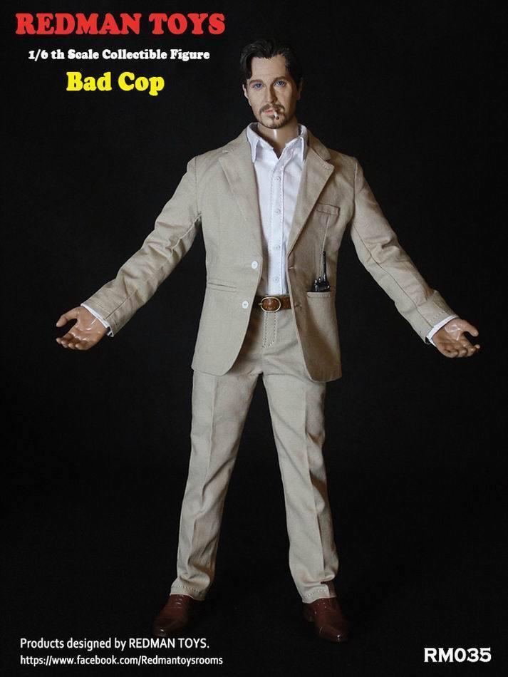 1 6 rödMAN leksaker RM035 Den dåliga snuten Gary Oldman Full Set Figur modelllllerlerl