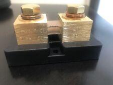 200 Amp 50 Mv Dc Ammeter Shunt Made In Usa New