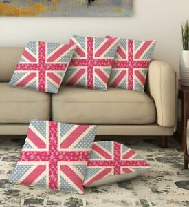 Stupendous Details About Pink Abstract Pattern Pillow Cover Throw Cushion Cover Waist Home Decor Set Of 5 Creativecarmelina Interior Chair Design Creativecarmelinacom