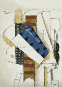 Cubism Head of a Man PICASSO Surrealism Expressionism Art Poster 1913