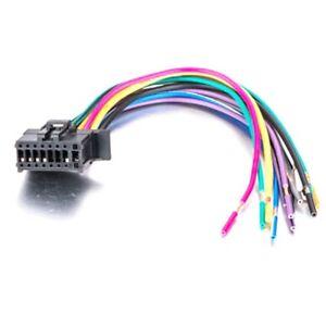 Pioneer AVH-p6800DVD AVH-P6300BT AVH-P6600DVD AVH-P7500DVD Wire Power Harness