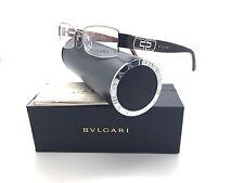 Bvlgari Brown Eyeglasses BV 2023 B 284 52 mm Swarovski CrystalsDemo Lenses