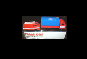 Ensemble Série Spéciale Véhicules de Pompiers Rda (Pl   Bl) Mini Car
