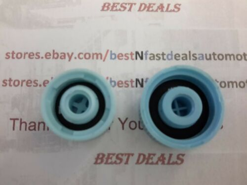 2 pcs high and low side port  Air Conditioning Schrader Valve Caps