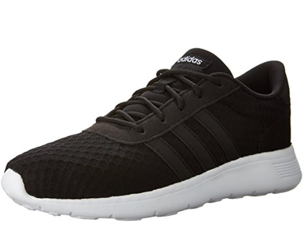 Adidas Adidas Adidas Lite Racer Womens UK 5.5 Black Black White Running shoes Trainers AW4960 ca907c