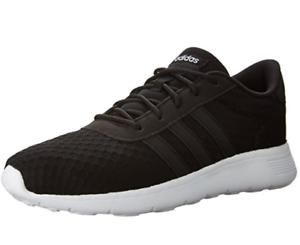 adidas Lite Racer Womens UK 5.5 Black Black White Running Shoes ... d99dcb46e