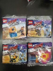 NEW-Lego-Movie-2-Super-Polybag-Bundle-30529-amp-30528-amp-30527-amp-30340-New-Rare