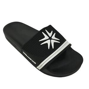 8de4afae9 Mens Summer Casual Slides Outdoor Beach Sandals Home Open Toe Slip ...