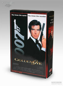Sideshow 007 Figurine    de James Bond, figurine Alec Trevelyan 006, 12   Sideshow 007 James Bond    Alec Trevelyan 006 12