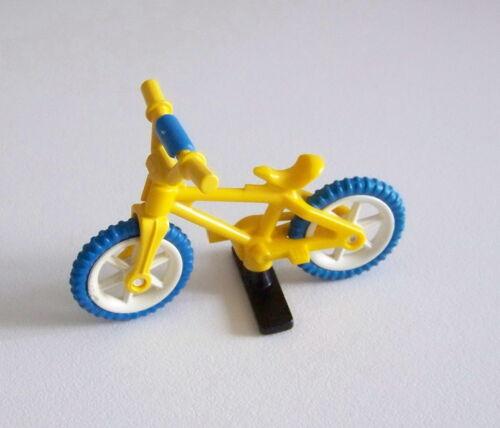 ENFANTS 1531 Vélo Jaune avec Support Noir PLAYMOBIL