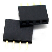 New Listing20pcs 4 Pin 254mm Female Stackable Header Connector Socket For Arduino