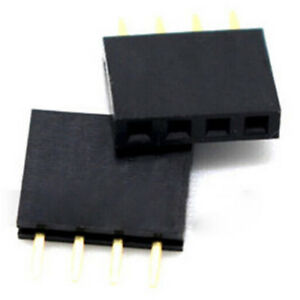 20Pcs-4-Pin-2-54Mm-Female-Stackable-Header-Connector-Socket-For-Arduino-ShielVX