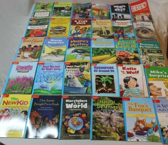 Set 30 MacMillan McGraw-Hill Treasures On Level Grade 3 Leveled Readers Blue
