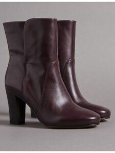Leather Size Ankle Uk Block Autograph Eur Oxblood amp;s Heel 7 5 40 Boots M qx8FtB